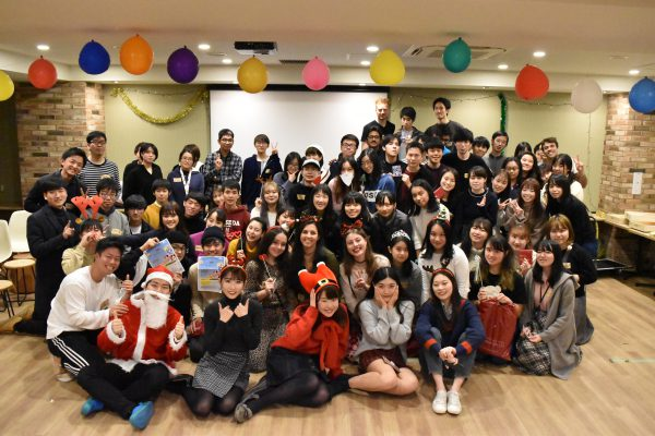 A Christmas event was held at WID Waseda.